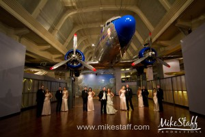 Henry Ford Museum – Dearborn, MI Wedding Photo -