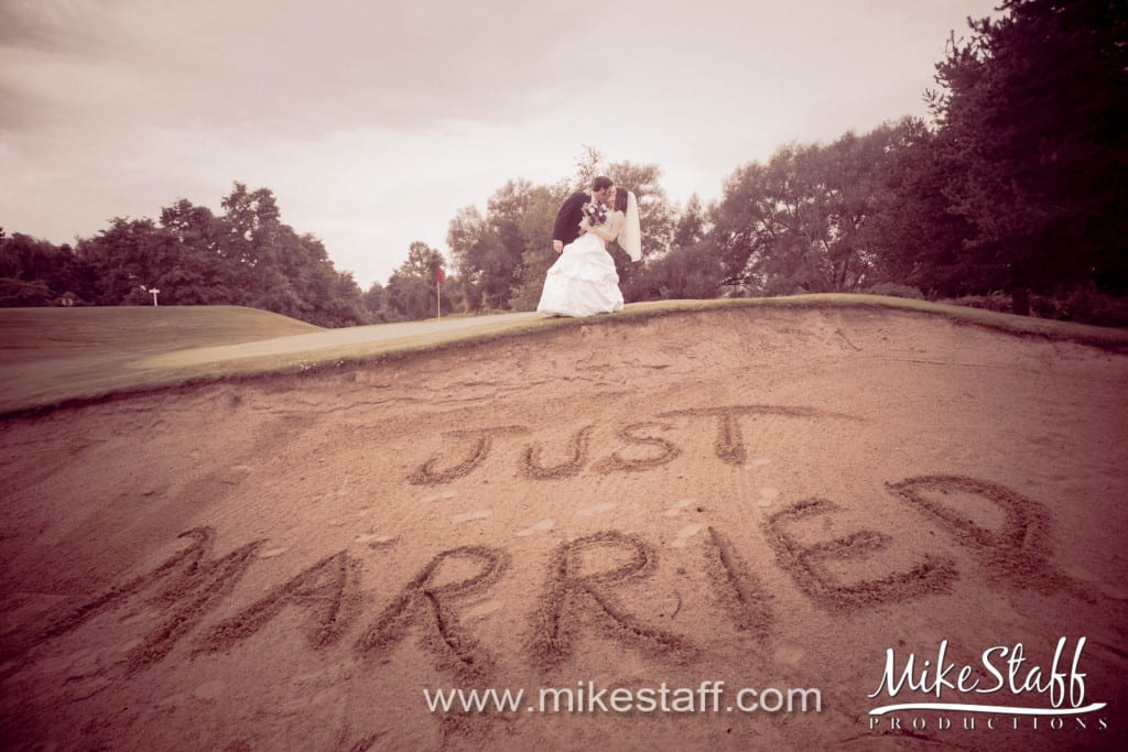 Myth Golf Course – Oakland Wedding Photo -