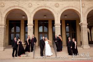Belle Isle Casino Building – Detroit, MI Wedding Photo -