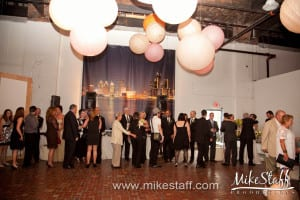 Detroit MOCAD Wedding Photo -