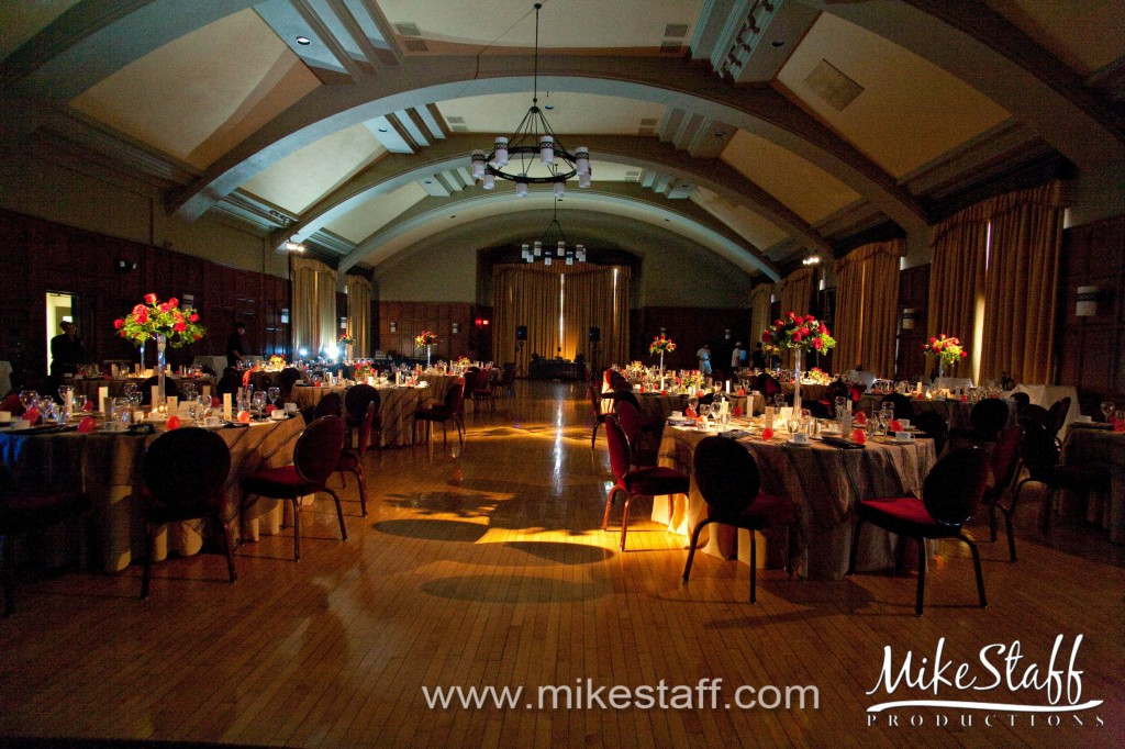 The Michigan League, Ann Arbor Wedding Photo -