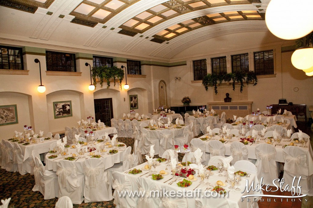 Henry Ford Estate Dearborn Wedding Photo
