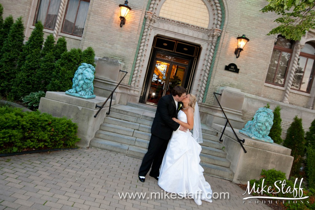 Lafayette Grande, Pontiac Wedding Photo -