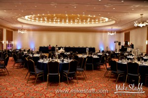 Detroit Marriott at the Renaissance Center  – Detroit, MI Wedding Photo -