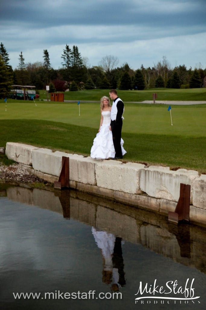 Fore Lakes Golf Club Wedding Photo -